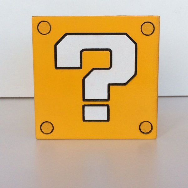 Porta Lápis Quest Block - Super Mario