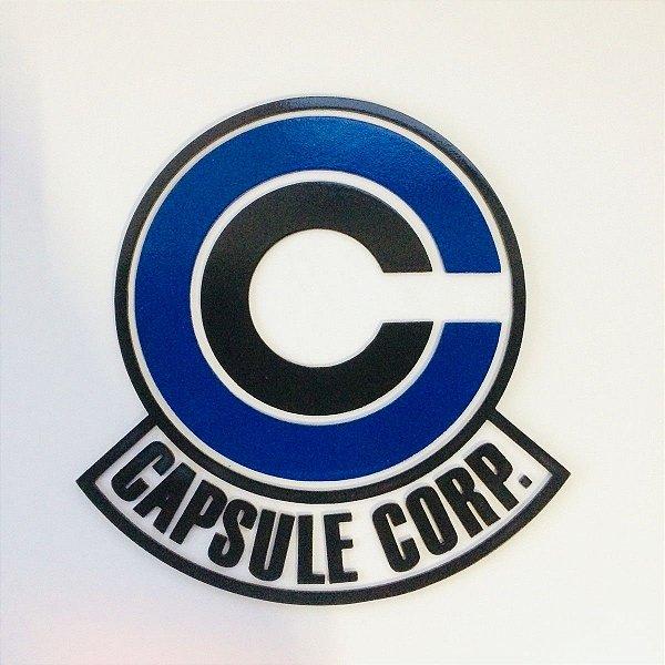 Placa Corporação Cápsula Alto-Relevo