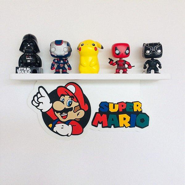 Prateleira Super Mario
