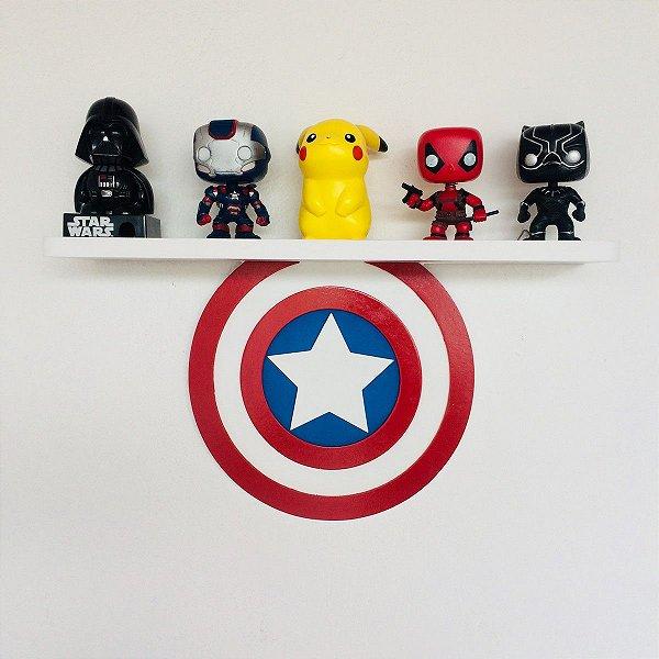 Prateleira Capitão America | Vingadores