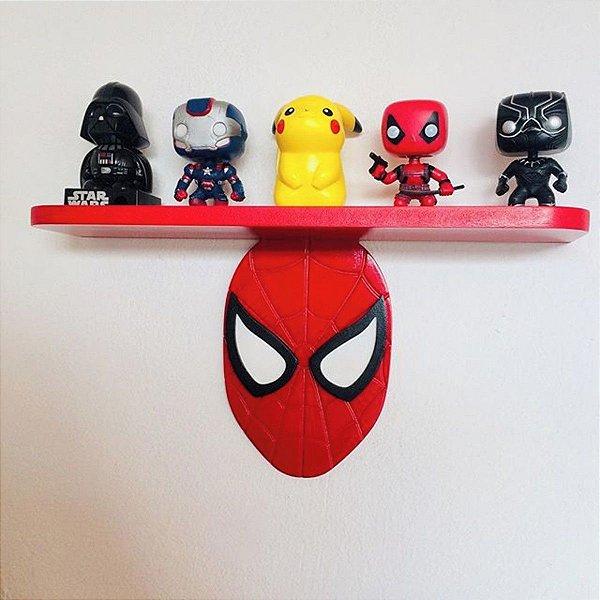 Prateleira Homem Aranha | Vingadores