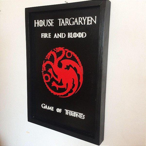 Quadro House Targaryen