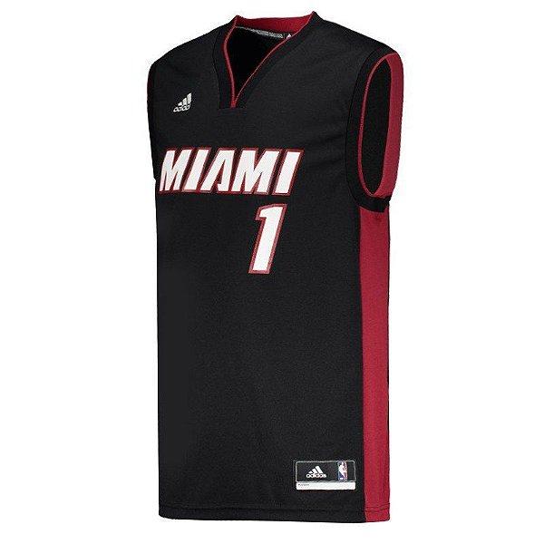 bdfab8e868 Regata NBA Miami Heat 1 Bosch - Artigos de Basquete