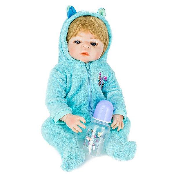 Michel Sweet Dreams - Bebê Reborn Menino Pronta Entrega 48cm