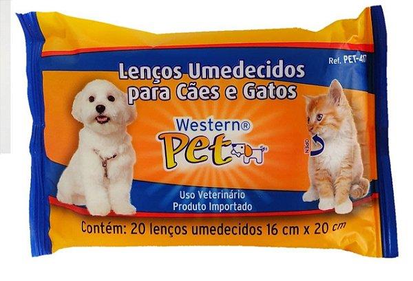 Lenços Umedecidos para Cães e Gatos