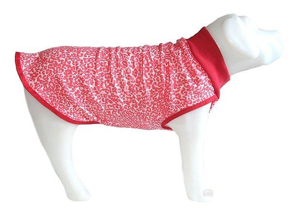 Pijama Pet em Malha Vermelho