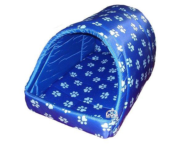 Cama de Cachorro Oca Azul - Porte Médio