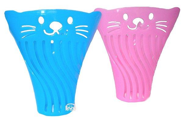 Pá Higiênica para Areia para Gatos - Formato de Concha