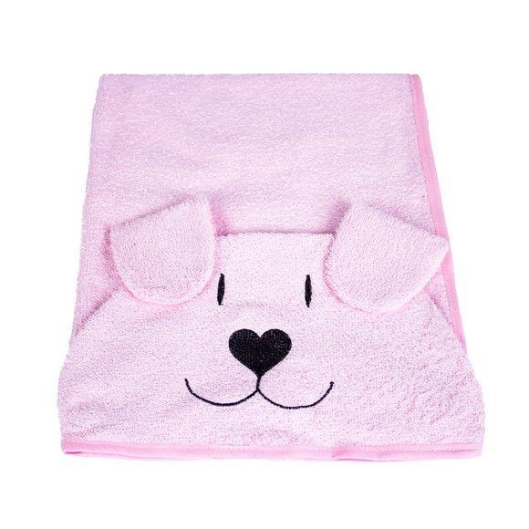 Toalha de Banho para Cães e Gatos com capuz