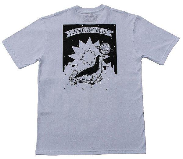 Camiseta - LookDatShit X Black Media - Foca Branca