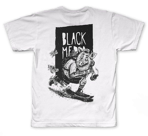 Camiseta - Porco Push Branca