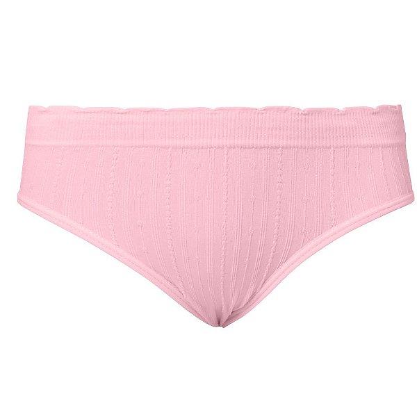 Calcinha Tanga Infantil Sem Costura Rosa