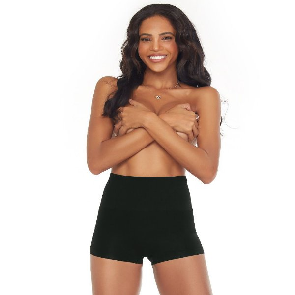 Calcinha Boxer Modeladora Sem Costura Preta