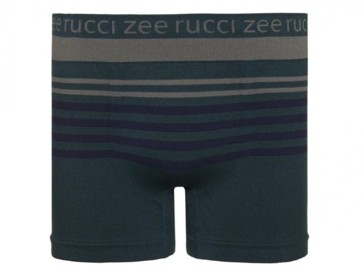 Cueca Boxer Listrada Sem Costura Verde Listrada