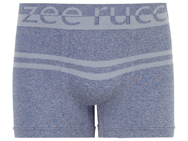 Cueca Boxer Mescla sem Costura Azul