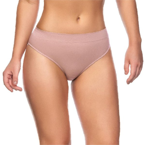 Calcinha Comfort Sem Costura Rosa Blush