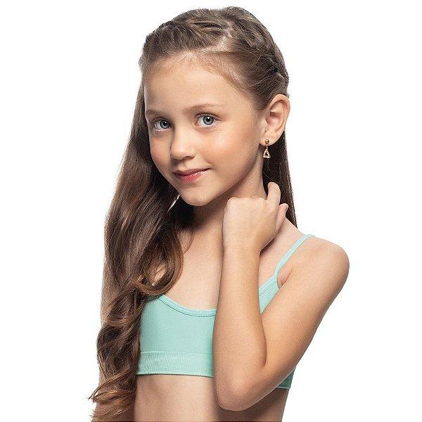 Top Infantil Sem Costura Tiffany
