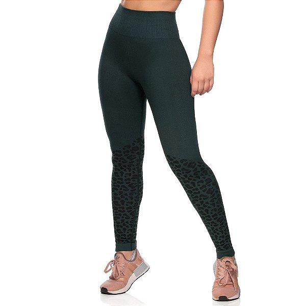 Calça Legging Fitness Sem Costura