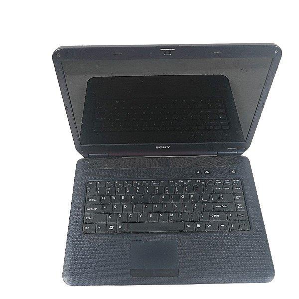 Notebook mercado livre i3 Sony Vaio 4gb Win10 HD 320gb