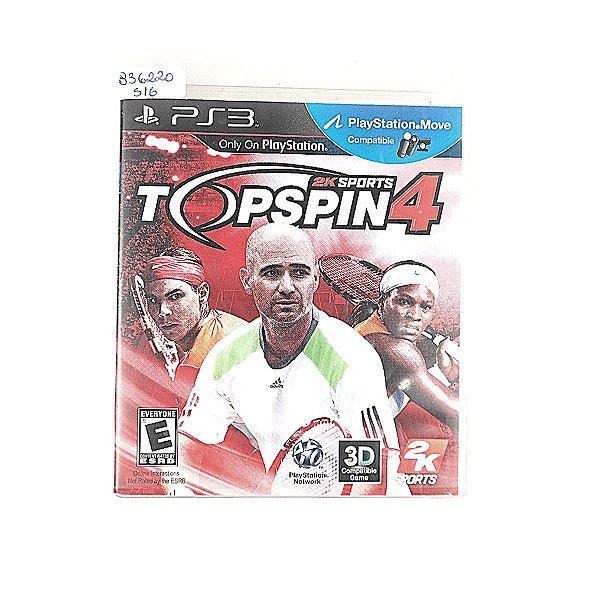 Jogo Top sPin 2k Sports 4 para PS3