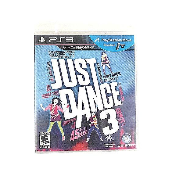 Jogo Just Dance 3 para PS3