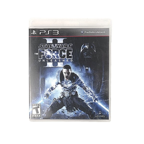 Jogo Star Wars The Force Unleashed para PS3
