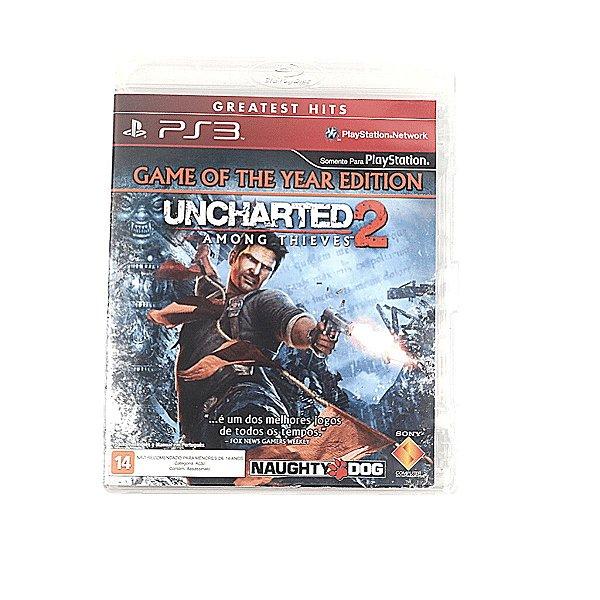Jogo Uncharted 2 Among Thieves para PS3