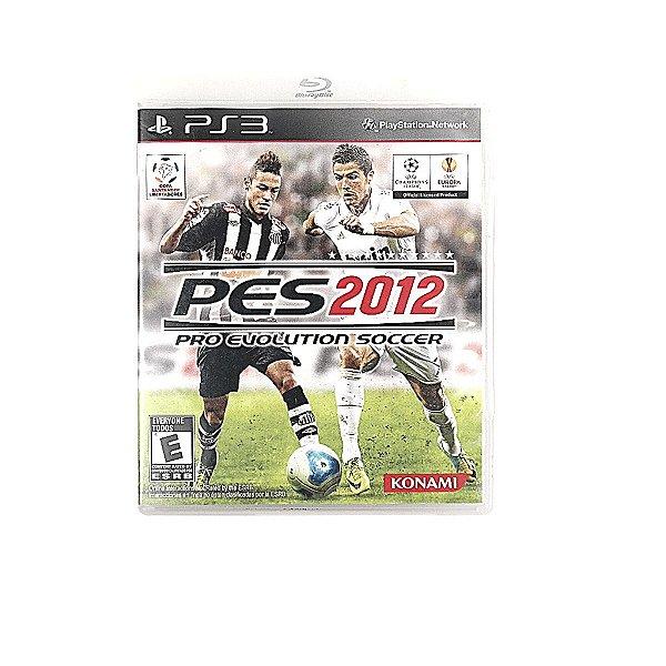 Jogo PES 2012 Pro Evolution Soccer para PS3