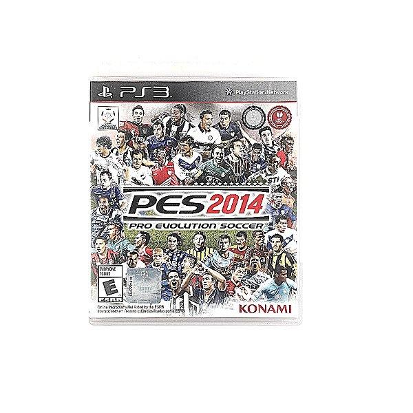 Jogo PES 2014 Pro Evolution Soccer para PS3