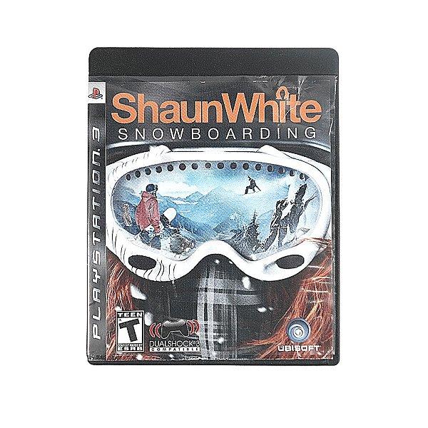 Jogo Shaun White Snowboarding para PS3