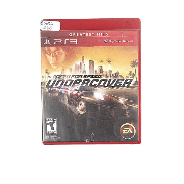 Jogo Need For Speed Undercover para PS3