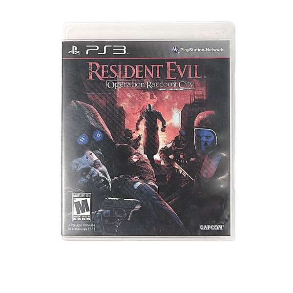 Jogo Residente Evil Operation Raccoon City para PS3