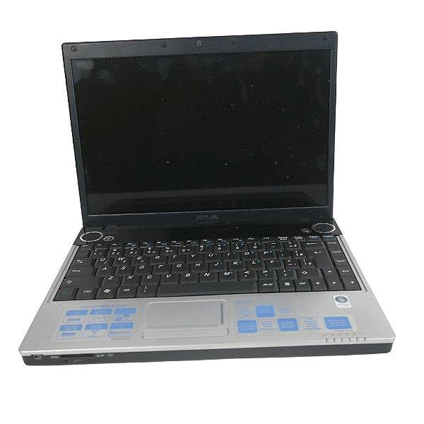 Notebook Barato Usado Philips 4gb Win10 320hd Só Hoje!