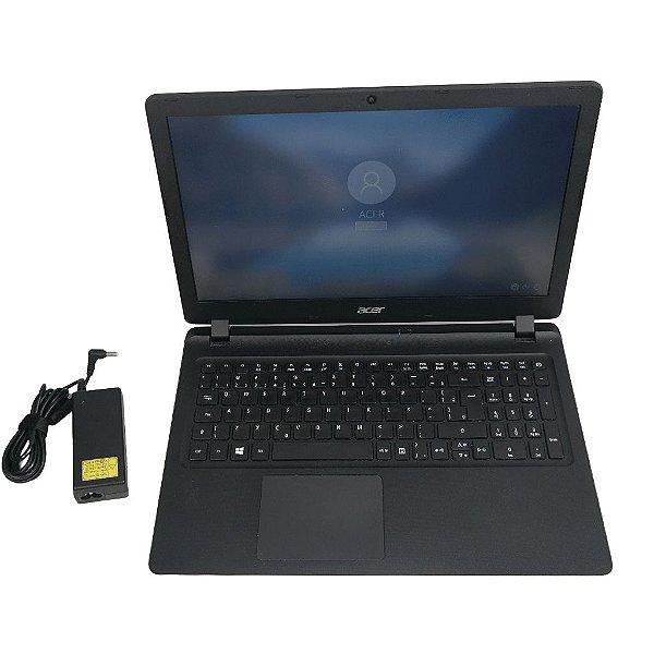 Notebook Acer ES1-572-32LD Core i3 HD 1 Tera 8GB Win 10