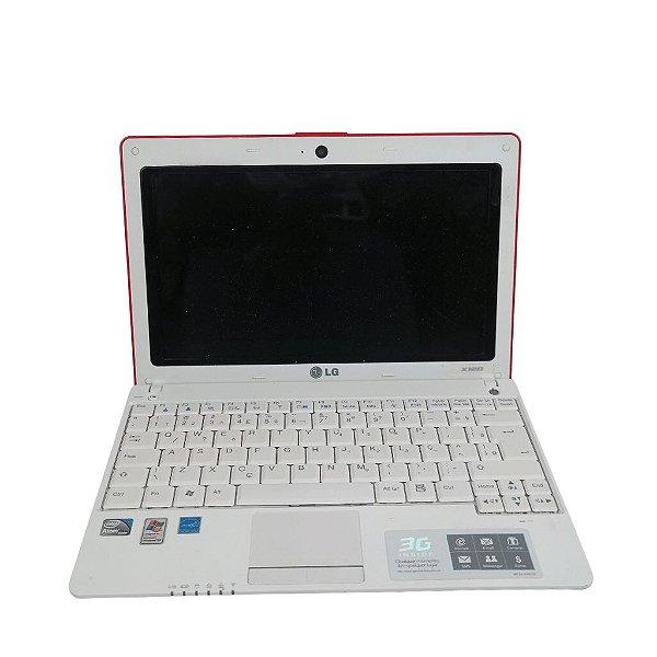 "Notebook Pequeno e leve LG X120 HD 500gb Tela 10.1"" Win 7"