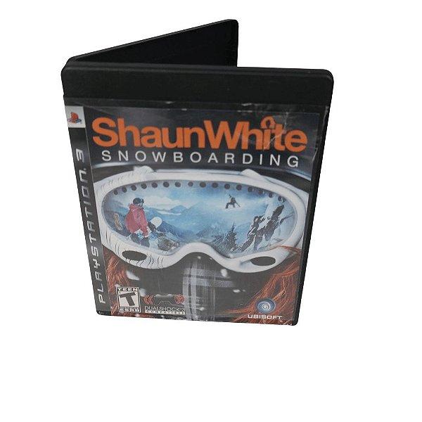 Jogo Ps3 Shaun White Snowboarding