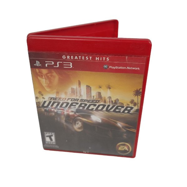 Jogo Ps3 Need For Speed Undercover