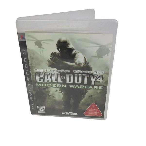 Jogo Ps3 Call of Duty 4: Modern Warfare
