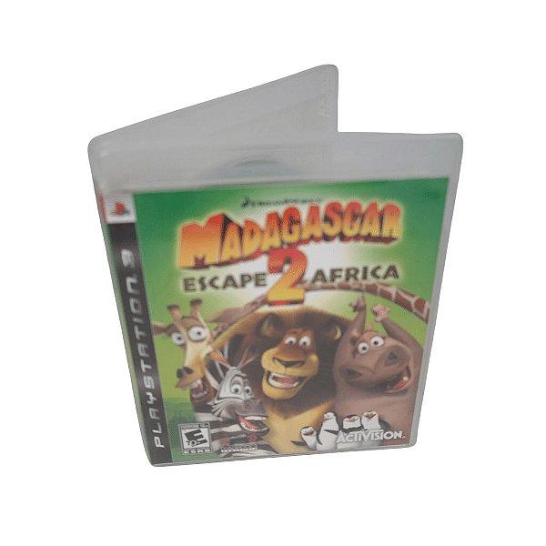 Jogo Ps3 Madagascar: Escape 2 Africa
