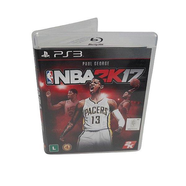 Jogo Ps3 NBA 2K17