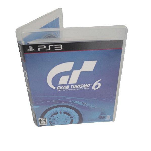 Jogo Ps3 Gran Turismo 6