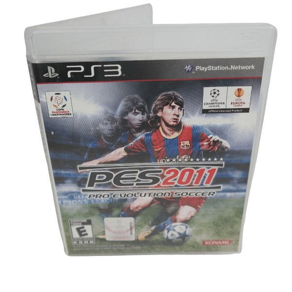 Jogo Ps3 Pro Evolution Soccer 2011 (PES 11)