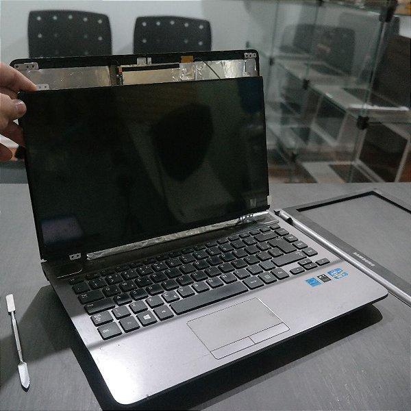 Troca de Tela Notebook Samsung Core i7 NP500P4C-AD2BR