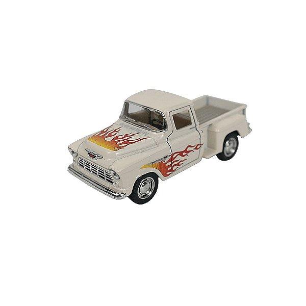 Carrinho de brinquedo 1955 Chevy Stepside Pick-Up