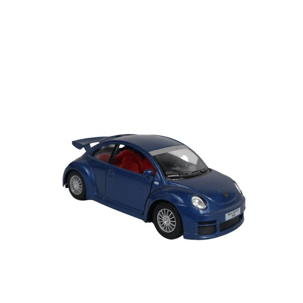 Carrinho de brinquedo Volkswagen New Beetle RSI azul
