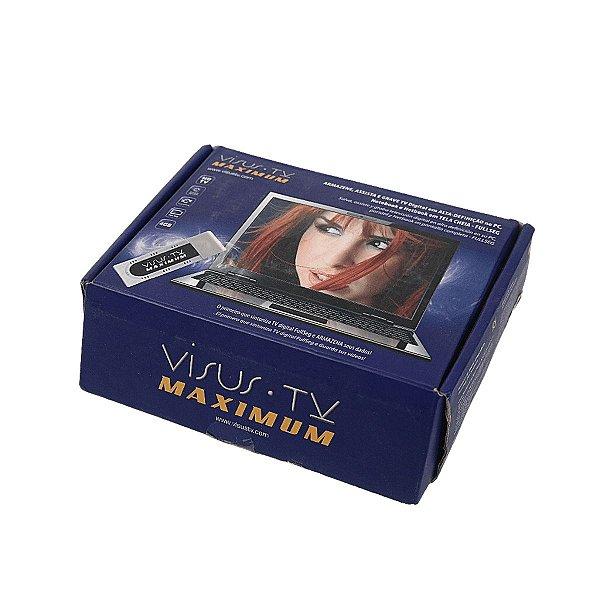 Visus Tv Extreme Sintonizador Antena Digital P/ Pc Notebook