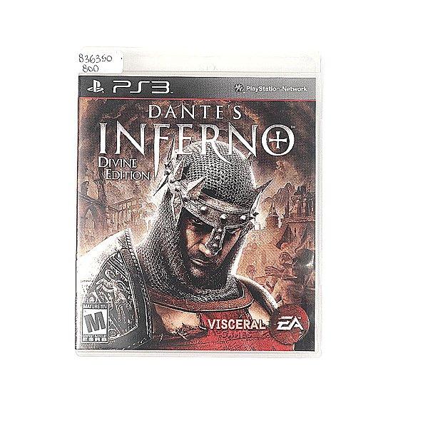 Jogo Dante's Inferno para PS3