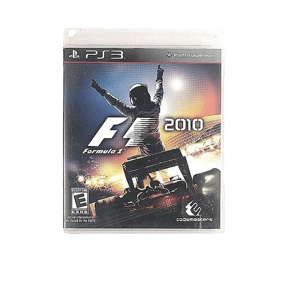Jogo Formula 1 2010 para PS3