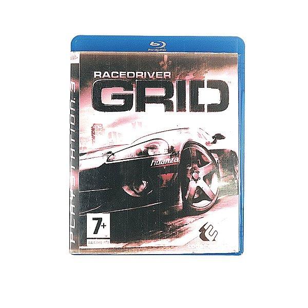 Jogo Racedriver Grid para PS3