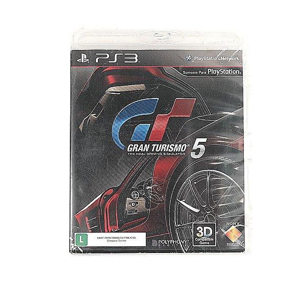 Jogo Gran Turismo 5 para PS3